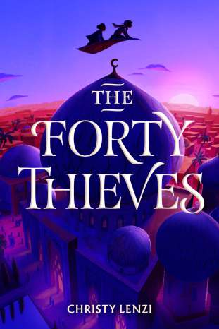 Forty Thieves ARC cover